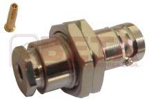 CONECTOR BNC FEMEA RF 75 PAINEL 0,3/1,8