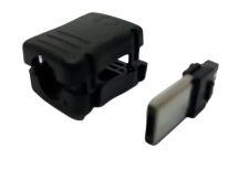 CONECTOR MICRO USB ( V.8 ) MACHO LONGO C/ CAPA