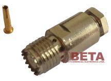 CONECTOR MOTOROLA FEMEA RG 58 SOLDA