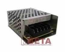 FONTE 12,0 VDC 5,0 A - METALICA PEQUENA