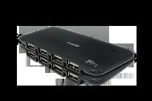 HUB 7 PORTAS USB 2.0 C/FONTE COMTAC