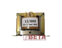 TRANSFORMADOR 12/600 (12+12/220MA) HAYAMA